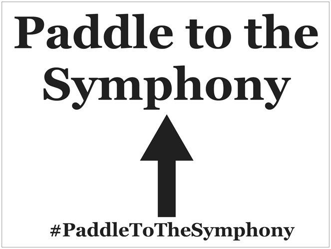 Paddle Sign